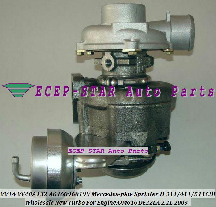 VV14 VF40A132 Mercedes-PKW SprinterII 211CDI 311CDI 411CDI 511CDI 2003-2009 2.2L VV14 A6460960199 (3)