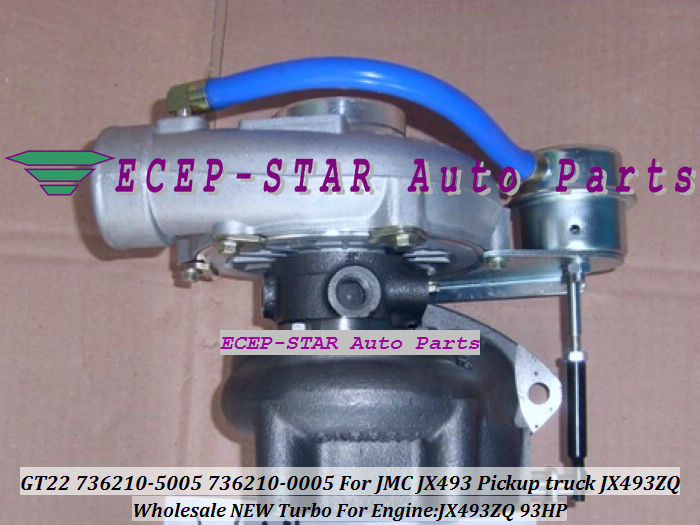 GT22 736210-5005 736210-0005 for Transit Commercial Vehicle JX493ZQ 93HP - (1)