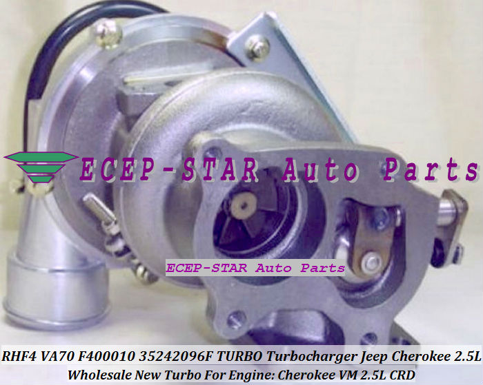 VA70 F400010 35242096F Turbo Turbine Turbocharger For Cherokee VM 2.5L CRD (1)