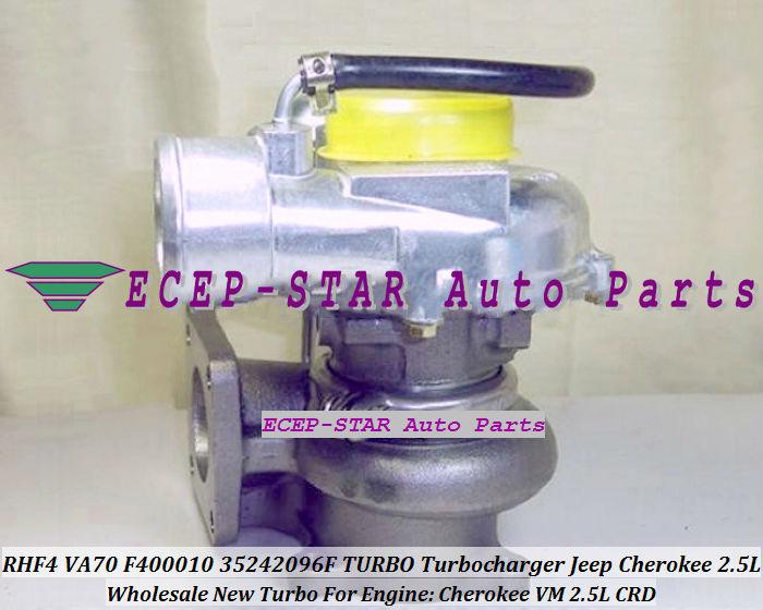 VA70 F400010 35242096F Turbo Turbine Turbocharger For Cherokee VM 2.5L CRD (2)