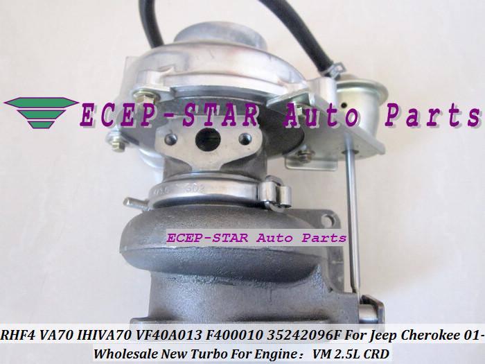 RHF4 VA70 IHIVA70 VF40A013 F400010 35242096F Turbo Turbine Turbocharger For Jeep Cherokee 2.5L CRD VM 2001- (4)