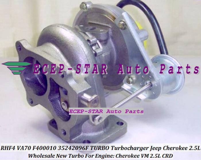 VA70 F400010 35242096F Turbo Turbine Turbocharger For Cherokee VM 2.5L CRD (3)
