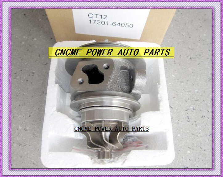 TURBO CHRA Cartridge of CT12 17201-64050 17201 64050 1720164050 Turbine Turbocharger For TOYOTA Lite Ace Engine 2CT 2C-T 2.0L (4)