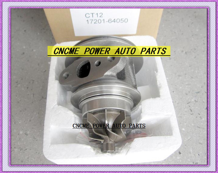 TURBO CHRA Cartridge of CT12 17201-64050 17201 64050 1720164050 Turbine Turbocharger For TOYOTA Lite Ace Engine 2CT 2C-T 2.0L (1)