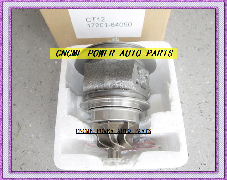 TURBO CHRA Cartridge of CT12 17201-64050 17201 64050 1720164050 Turbine Turbocharger For TOYOTA Lite Ace Engine 2CT 2C-T 2.0L (3)