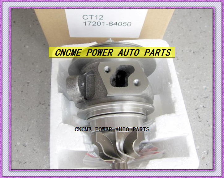 TURBO CHRA Cartridge of CT12 17201-64050 17201 64050 1720164050 Turbine Turbocharger For TOYOTA Lite Ace Engine 2CT 2C-T 2.0L (2)