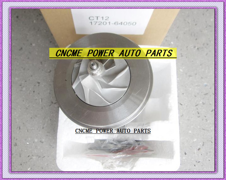 --TURBO CHRA Cartridge of CT12 17201-64050 17201 64050 1720164050 Turbine Turbocharger For TOYOTA Lite Ace Engine 2CT 2C-T 2.0L (6)