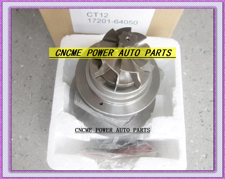 --TURBO CHRA Cartridge of CT12 17201-64050 17201 64050 1720164050 Turbine Turbocharger For TOYOTA Lite Ace Engine 2CT 2C-T 2.0L (5)
