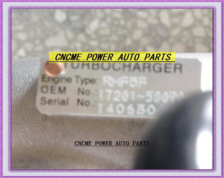 TURBO CT12B 17201-58070 VA430046 VB9 Turbocharger For TOYOTA Hiace 1996-02 Bus Coaster Optimo 1999-07 15B 15BFTE 4.0L 4.1L D 136HP (2)