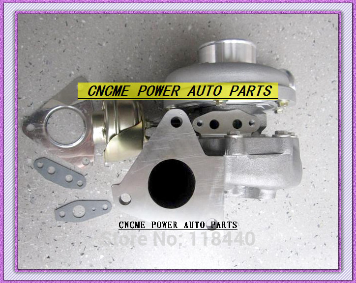 TURBO GT2052V 726442-0001 14411-2W204 Turbocharger For Nissan Ambulance FLWGE50 Elgrand Terrano TR50 3.0L 2001 ZD30ETi 168HP (4)