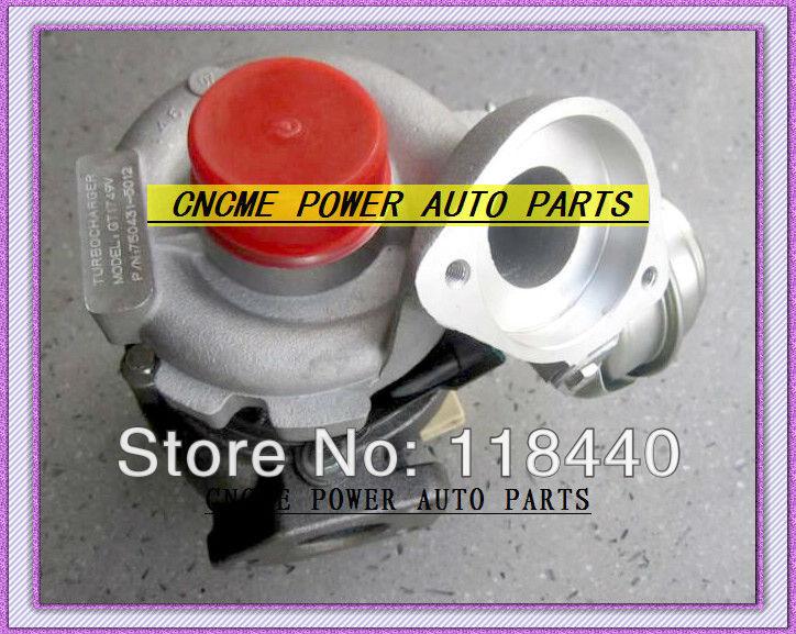 TURBO GT1749V 750431-5012S 750431-5009S Turbocharger For 320D E46 320TD 120D 520D 1998-2005 X3 E83 E83N M47TU 2.0L 150HP
