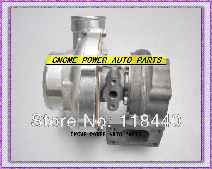 GT30 GT3076 GT3076-1 No valve Turbo Turbocharger T25 flange AR .70 AR .86 wastegate water and oil cooled V Band with gaskets (1)