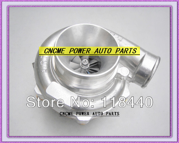 GT30 GT3076 GT3076-1 No valve Turbo Turbocharger T25 flange AR .70 AR .86 wastegate water and oil cooled V Band with gaskets