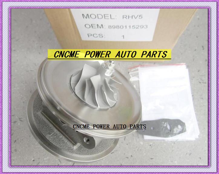 Turbocharger Turbo Cartridge CHRA RHV5 VIEZ 8980115293 8980115294 For ISUZU D-MAX 3.0L CRD 07 Rodeo Colorado 4JJ1T 4JJ1-TC 163HP (5)