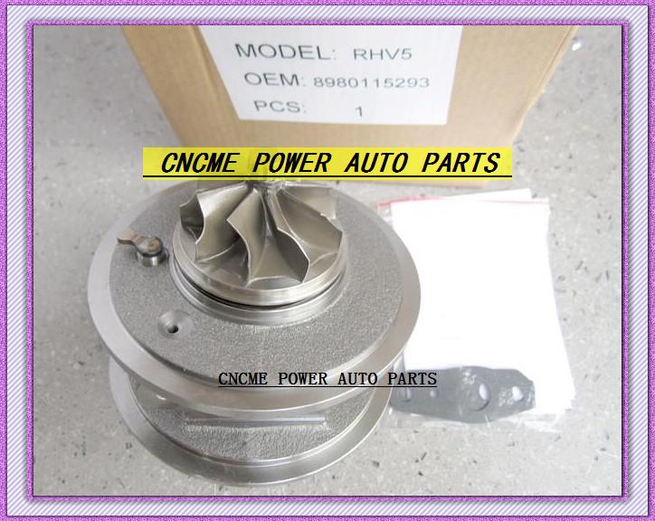 Turbocharger Turbo Cartridge CHRA RHV5 VIEZ 8980115293 8980115294 For ISUZU D-MAX 3.0L CRD 07 Rodeo Colorado 4JJ1T 4JJ1-TC 163HP (6)