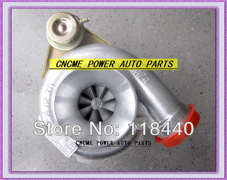 Wholesale Retail GT3076 GT30 turbo T25 C AR .70 T AR .86 wastegate water and oil cooled turbocharger turbo 200-380HP (1)