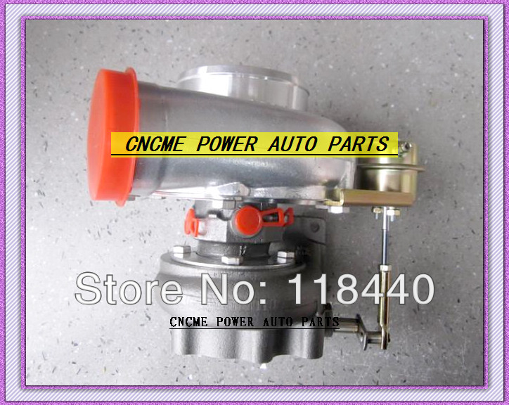 Wholesale Retail GT3076 GT30 turbo T25 C AR .70 T AR .86 wastegate water and oil cooled turbocharger turbo 200-380HP (3)