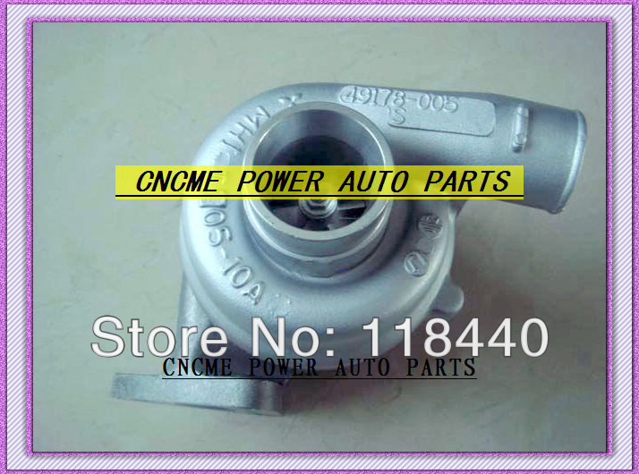 - TD05-10A 49178-00530 49178-00550 ME080341 Turbocharger For KATO HD300 HD400 HD450 Sumitomo 120 Cat E110 excavator Mitsubishi 4D31 4D31T