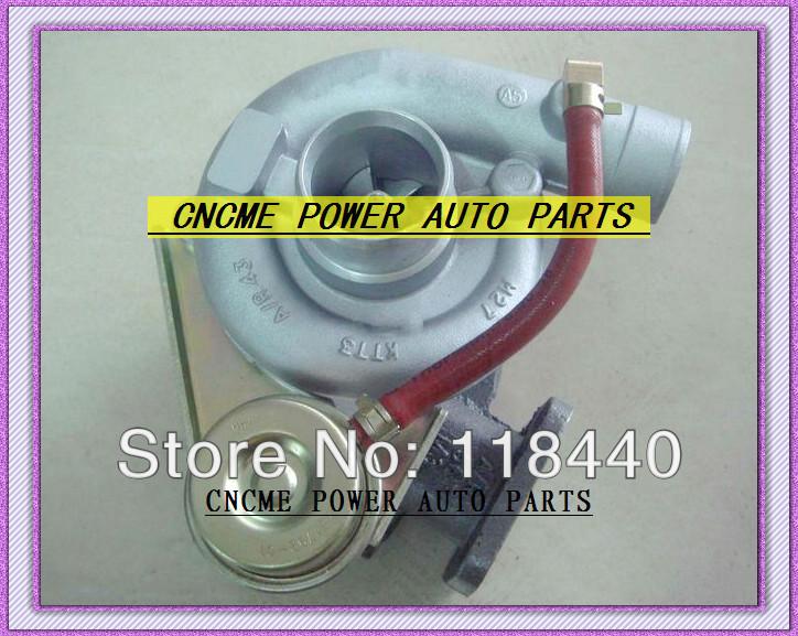 BEST TURBO GT1749S GT17 28230-41422 491037-0002 Turbine Turbocharger For Hyundai Mighty Truck II 3.5T Chrorus bus 1995-1998 D4AE 3.3L 100HP
