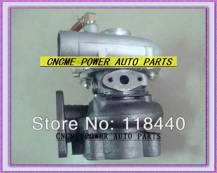 BEST TURBO GT1749S GT17 28230-41422 491037-0002 Turbine Turbocharger For Hyundai Mighty Truck II 3.5T Chrorus bus 1995-1998 D4AE 3.3L 100HP (3)