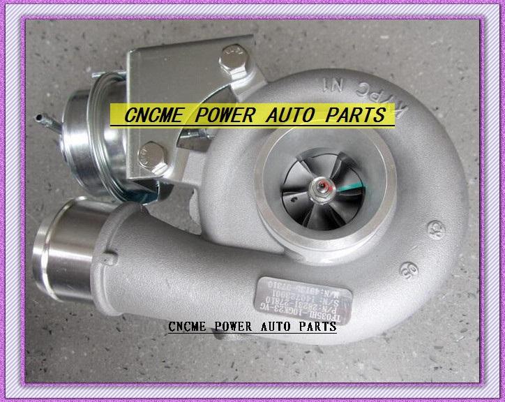 -TURBO TFO35 49135-07312 49135-07311 49135-07310 28231-27810 Turbocharger HYUNDAI Santa Fe 2005-09 D4EB 2.2L CRDi 150HP (6)
