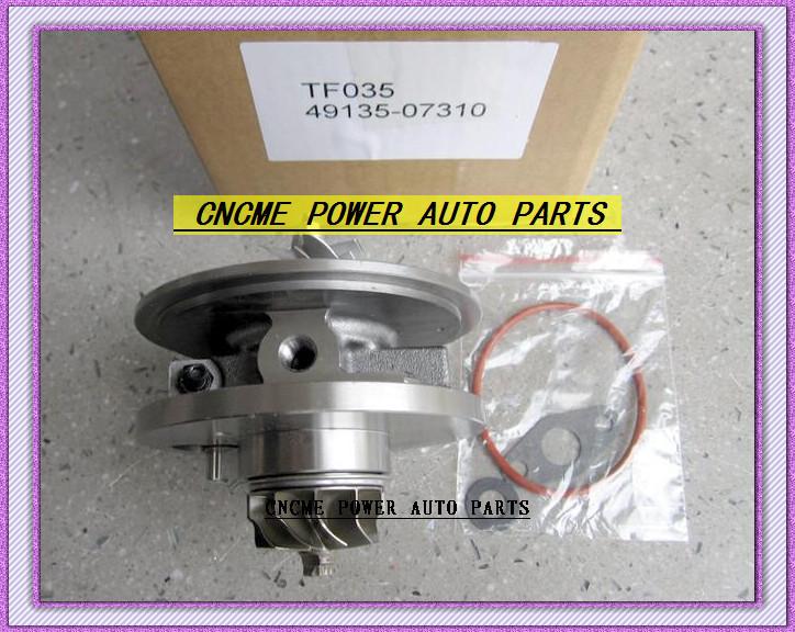 TF035 49135-07310 28231-27810 49135-07311 49135-07312 Turbo CHRA Cartridge Turbocharger For HYUNDAI Santa Fe Grandeur CRDi 06- D4EB 2.2L 150HP (2)