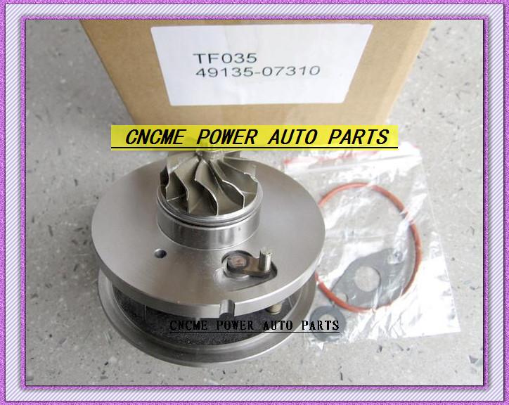 TF035 49135-07310 28231-27810 49135-07311 49135-07312 Turbo CHRA Cartridge Turbocharger For HYUNDAI Santa Fe Grandeur CRDi 06- D4EB 2.2L 150HP (4)
