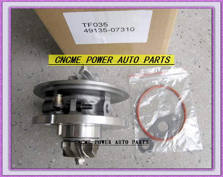 TF035 49135-07310 28231-27810 49135-07311 49135-07312 Turbo CHRA Cartridge Turbocharger For HYUNDAI Santa Fe Grandeur CRDi 06- D4EB 2.2L 150HP (1)