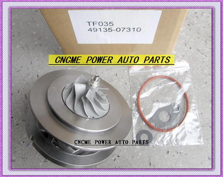 TF035 49135-07310 28231-27810 49135-07311 49135-07312 Turbo CHRA Cartridge Turbocharger For HYUNDAI Santa Fe Grandeur CRDi 06- D4EB 2.2L 150HP (5)