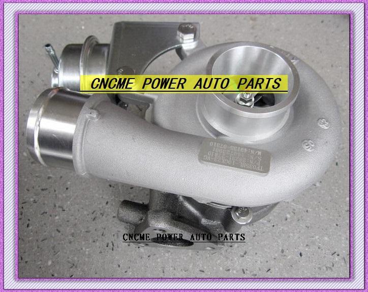 -TURBO TFO35 49135-07312 49135-07311 49135-07310 28231-27810 Turbocharger HYUNDAI Santa Fe 2005-09 D4EB 2.2L CRDi 150HP (5)