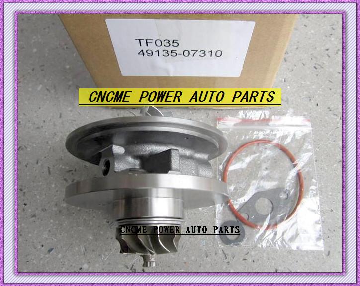 TF035 49135-07310 28231-27810 49135-07311 49135-07312 Turbo CHRA Cartridge Turbocharger For HYUNDAI Santa Fe Grandeur CRDi 06- D4EB 2.2L 150HP (3)