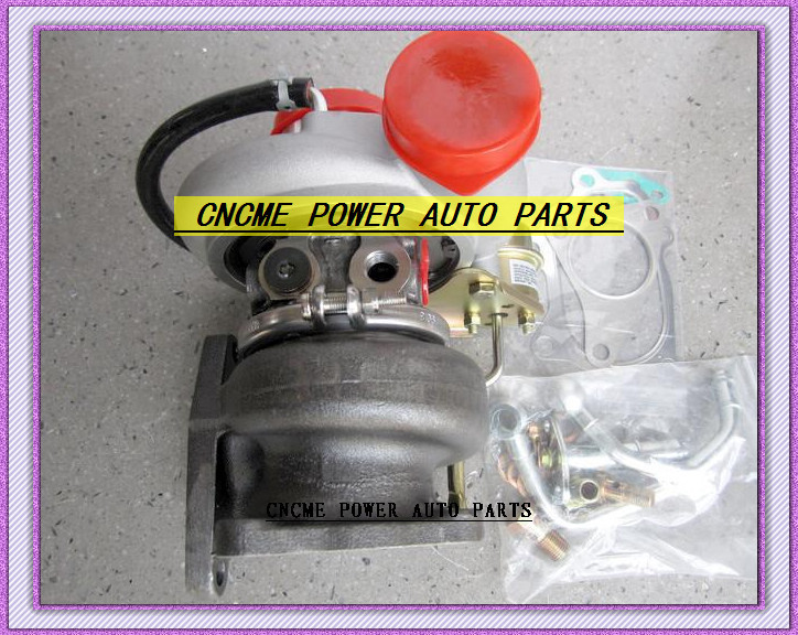 TD05 20G TD05-20G TD05-20G-8 Turbo Turbocharger For SUBARU Impreza WRX STI Turbine Engine EJ20 EJ25 MAX HP 450HP 5 bolts with gaskets pipe (7)