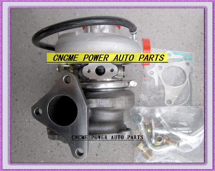 TD05 20G TD05-20G TD05-20G-8 Turbo Turbocharger For SUBARU Impreza WRX STI Turbine Engine EJ20 EJ25 MAX HP 450HP 5 bolts with gaskets pipe