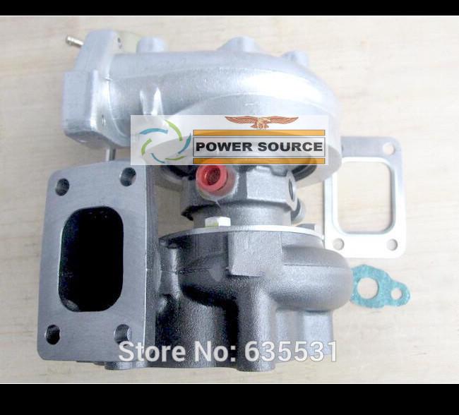 T25 T28 T25T28 T2528 T25T28 Turbo Turbine TurboCharger For Nissan S13 S14 S15 comp .60 turbine .64 ar T25 Flange Water Cooled (2)