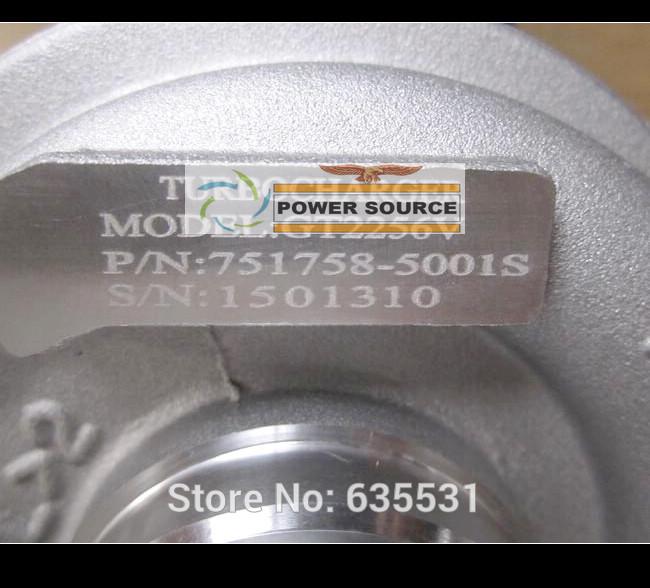 GT2256V 751758 751758-5001S Turbo Turbocharger For IVECO Daily Renault Mascott 2.8L 2000- 8140.43K.4000 2.8L 146HP (1)