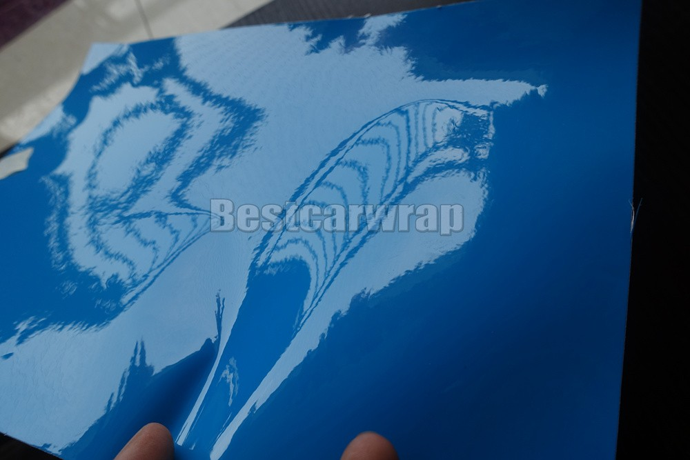 Azure bABY BLUE SKY BLUE ULTRA Glossy Resin Pearl car wrapping film 3M 1080 GLOSS SHINY CARBON FIBRE HEXIS (11)