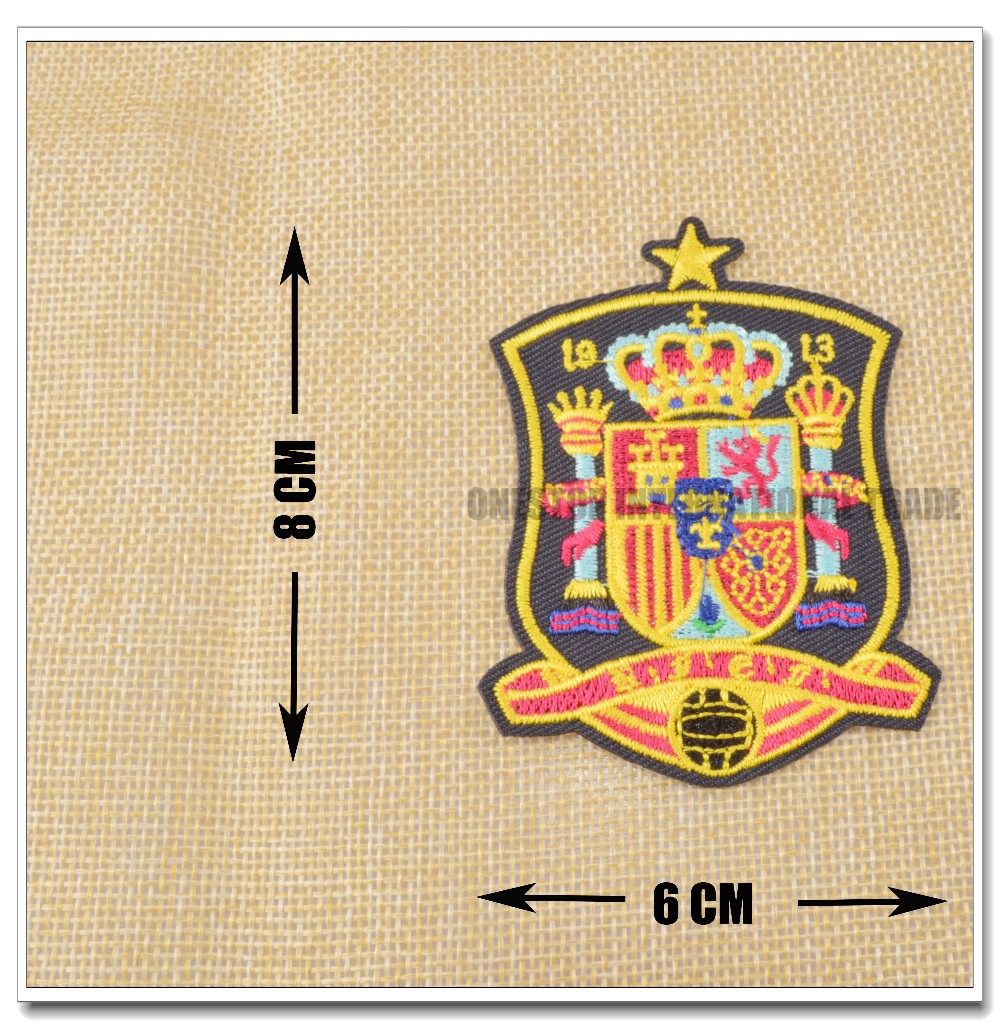 Вышивки футбольных клубов испании