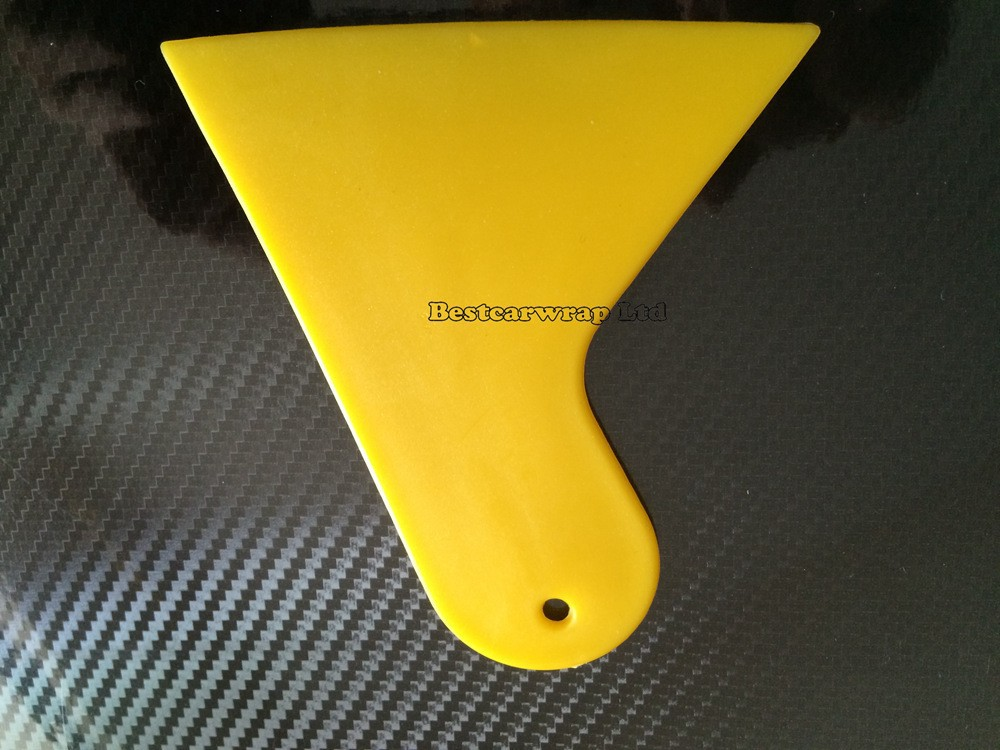 Yellow 3m quality squeegee car wrap tool (1)