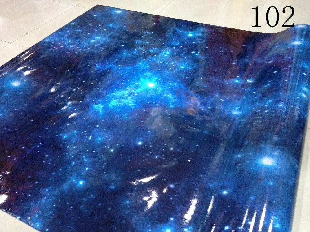 Galaxy Stickerbomb Starry sky Vinyl Car Wrap sticker (2)