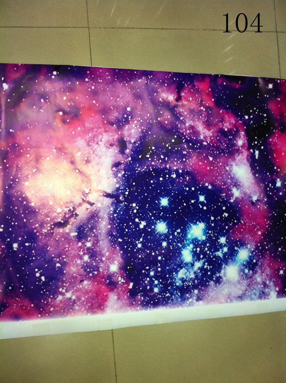Galaxy Stickerbomb Starry sky Vinyl Car Wrap sticker (4)
