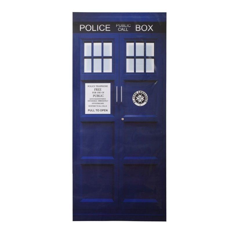 Doctor Who Door Decal0