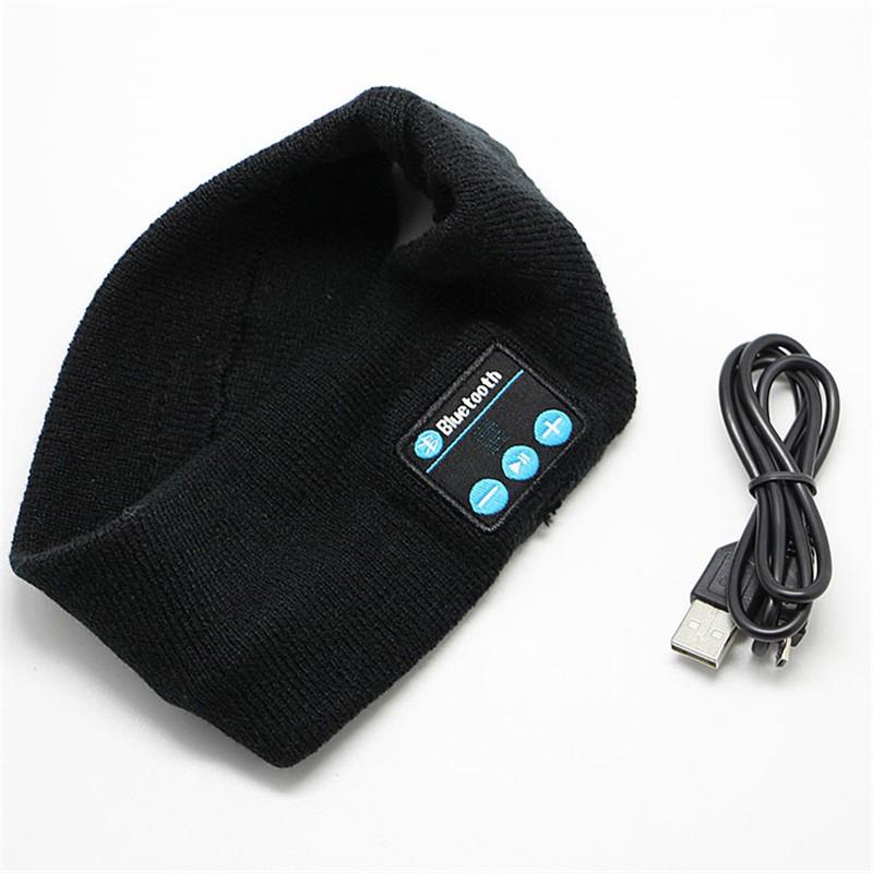 Wireless-Bluetooth-Headband-cap-Music-Headphones-Knit-Sport-Headset-Headgear-Hands-free-Phone-Call-Answer-Ears
