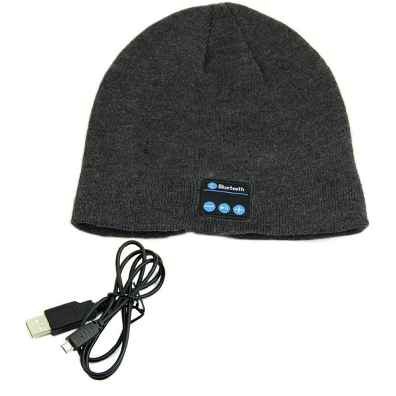 Warm-Beanie-Hat-Wireless-Smart-Bluetooth-Cap-Headphone-Headset-Speaker-Mic