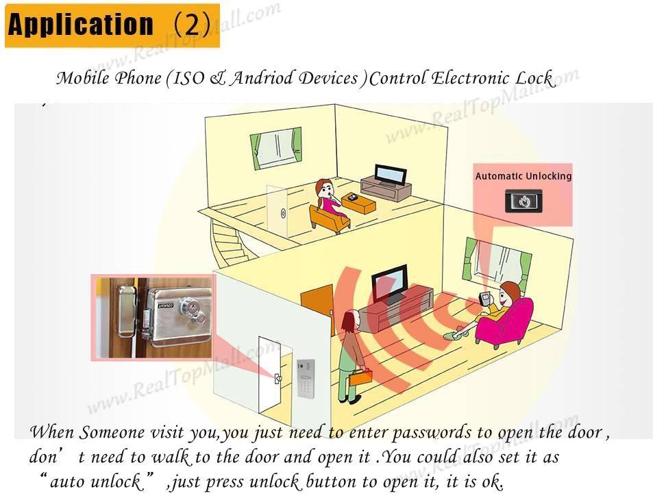 Hot Sale IP video intercom Wifi video intercom wireless video intercom unlock from smartphones DHL Free Shipping