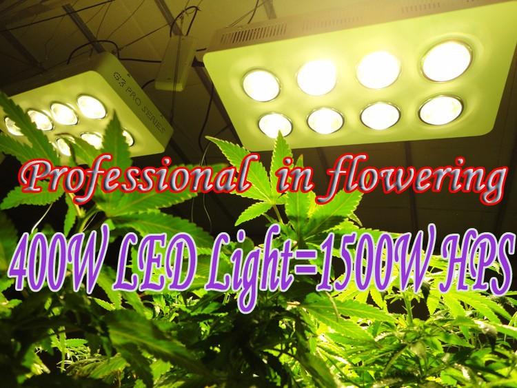 400W LED Light=1500W HPS