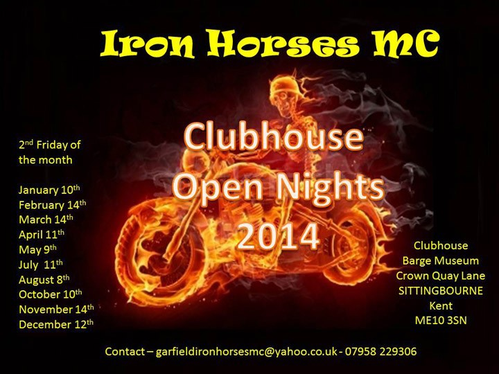 Iron Horses Open Nights 2014 (2)