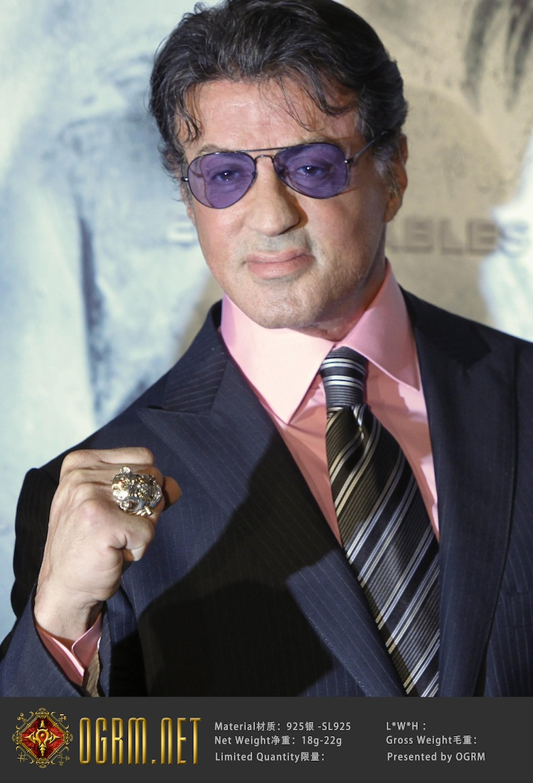 Sylvester Stallone S Lucky Ring Expendables For Sale