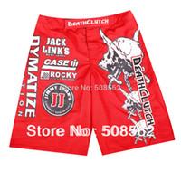 Wholesale Death Clutch - Wholesale-Wholesale - --NEW!!! Death Clutch Brock Lesnar Vale Tudo Fight shorts