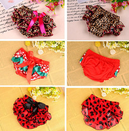 Wholesale Leopard Baby Satin Bloomers - Wholesale-2015 Leopard&Hot Pink Ruffle Tiered Baby Bloomer Diaper Covers Toddler Baby Satin Bloomers PP pants Diaper Covers Free