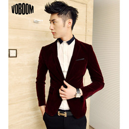 Discount Wine Velvet Blazer | 2017 Wine Velvet Blazer on Sale at ...